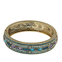 "Heidi Daus ""Age of Elegance"" Crystal Bangle Bracelet"