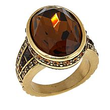 "Heidi Daus ""Bold Move"" Oval Ring"