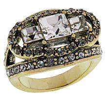 "Heidi Daus ""Deco Decadence"" Crystal Ring"