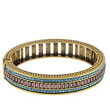 "Heidi Daus ""Endless Baguettes"" Crystal Bangle Bracelet"