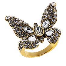 "Heidi Daus ""Monarch Magic"" Butterfly Ring"