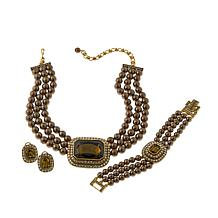 "Heidi Daus ""Tailored to Please"" Jewelry Wardrobe Set"