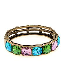 "Heidi Daus ""Tried and True"" Crystal Bangle Bracelet"