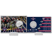 Highland Mint 2019 World Series Champions Celebration Silver Coin Card