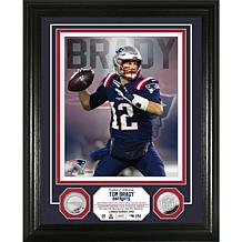 Highland Mint Tom Brady Silver Coin Vertical Photo Mint