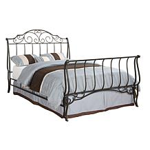Home Origin Cameo Curved Metal Bed - Full