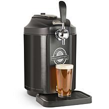 HomeCraft Black Stainless Steel Tap Beer Growler Cooling System
