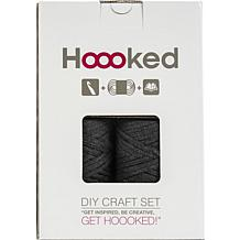 Hoooked Storage Bag Yarn Kit with Zpagetti Yarn - Dark Gray/Anthracite