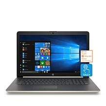 "HP 17.3"" Touch Intel Quad-Core 8GB RAM, 2TB HDD Laptop Bundle"