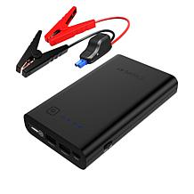iDeaPLAY Portable Vehicle Jump Starter with Accessories