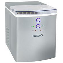 Igloo 33 lb. Automatic Portable Countertop Ice Maker Machine - Silver