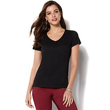 IMAN Global Chic Perfect Luxe Comfort Tee
