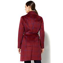 IMAN Global Chic Polished to Perfection Topper Coat