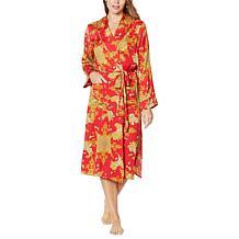 IMAN Global Chic Woven Paisley Robe