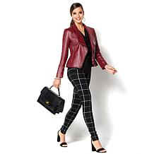 IMAN Platinum Buttery Soft Genuine Lamb Leather Jacket