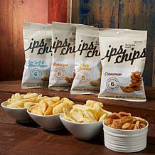 Ips Chips 24pk of 1 oz. Bags - Variety of Flavors