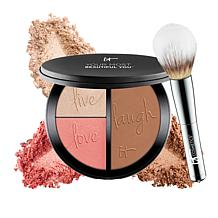IT Cosmetics Anti-Aging and Brightening Face Disk with Brush