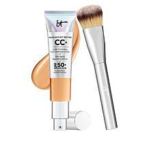 IT Cosmetics Neutral Tan Full Coverage SPF 50 CC Cream w/Plush Brush