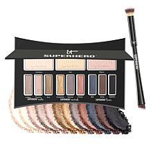 IT Cosmetics Superhero Luxe Eyeshadow Palette with Brush