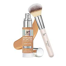 IT Cosmetics Your Skin But Better Foundation with Brush