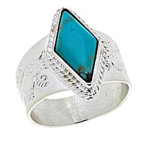 Jay King Andean Blue Turquoise Sterling Silver Ring