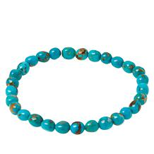 Jay King Colored Gemstone Bead Stretch Bracelet
