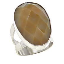 Jay King Ethiopian Autumn Opal in Chalcedony Ring