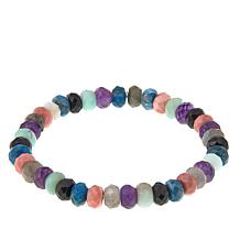 Jay King Multicolor Multigemstone Stretch Bracelet