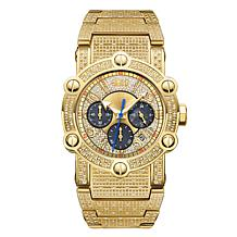 JBW Men's Phantom 18K 1ctw Diamond Chronograph Watch