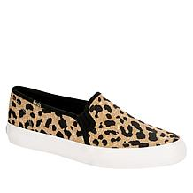 Keds Double Decker Leopard-Print Slip-On Sneaker