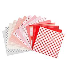 """Kingston Crafts Love Collection 60 Sheets Double-Sided 12"""" x 12"""" Paper"""