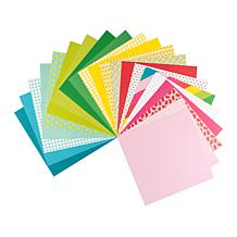 """Kingston Crafts Spring 12"""" x 12"""" Paper Pad - 84 Double-Sided Sheets"""