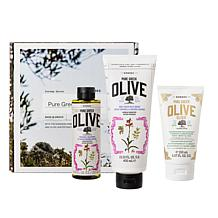 Korres Pure Greek Olive Radiant, Firm & Smooth 3-piece Collection
