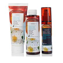 Korres Bergamot Jasmine Anti-Aging Bath and Body Trio