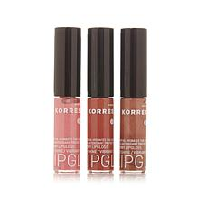 Korres Cherry Oil Lip Gloss Trio