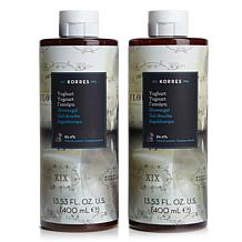 Korres Greek Yoghurt Shower Gel Duo