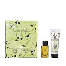 Korres Pure Greek Olive Oil & Olive Blossom 2pc Fragrance Collection