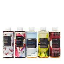 Korres Shower Gel Jumbo 5-Piece Collection