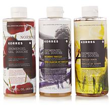 Korres Vanilla Obsessed Shower Gel Trio