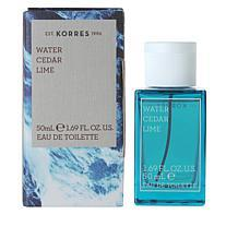 Korres Water Cedar Lime Eau de Toilette For Men - 1.69 fl. oz.