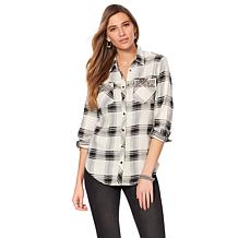 LaBellum by Hillary Scott Plaid Shirt