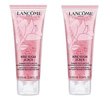 Lancôme Rose Sugar Scrub Duo