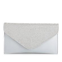 LaRegale Clutch with Crystal Flap