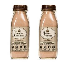 Leaner Creamer Mocha Powdered Coffee Creamer 2-pack