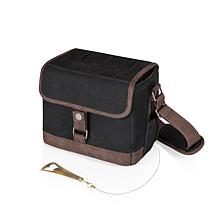 Legacy by Picnic Time Beer Caddy (Black with Brown Accents)