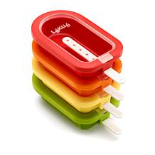 Lekue Set of 4 Stackable Popsicle Molds