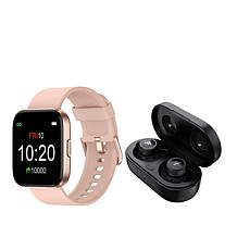 Letsfit IW1 Smartwatch with T20 Earbuds