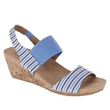 LifeStride Maldives Cork Wedge Sandal