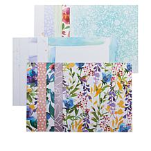 "Little Darlings Watercolor & Modern Florals 60 Sheets 12"" x 12"" Paper"