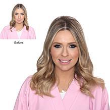 "Locks & Mane Caramel Ribbon 12"" Clip-In Human Hair Extensions"